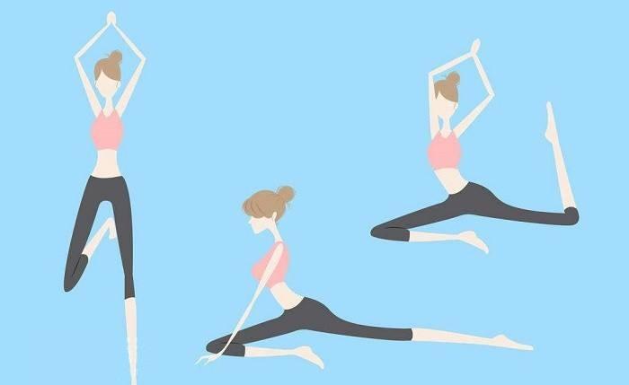 每日练习瑜伽消灭小肚子